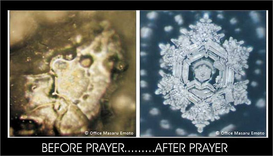 Water Crystals – Molecules before and after dua, prayer, vibration 550×315