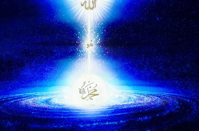 Zikr of Allah-Hu-Prophet Muhammad (s)- ocean of power, Shining-light-blue-no logo rev