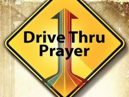 drive thru prayer sign