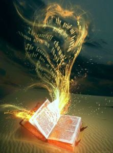 light coming out of book,reality ,book,kitab,