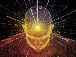 light emitting from head high frequency