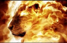 lion of Divine – Asad Allah Ghalib – fire