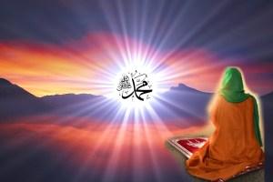 prayer seeing Muhammad sws, meditation, tafakkur, namaz