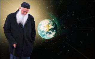 shaykh nurjan mirahmadi looking at earth, awliyaullah,