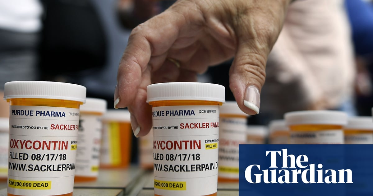 Five more US states sue Purdue Pharma over its role in opioid crisis