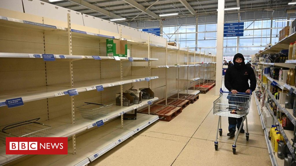 What are shops doing about stockpiling?