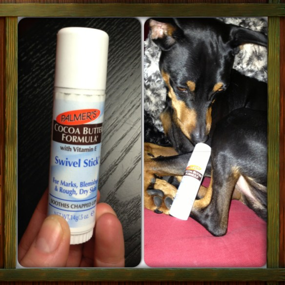 Even Hilda likes to use coco butter on her lips!
