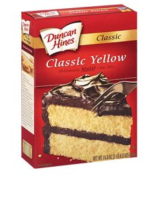 Standard cake mix