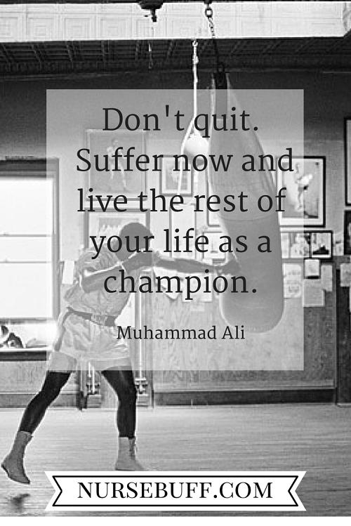 ali inspirational nursing quotes