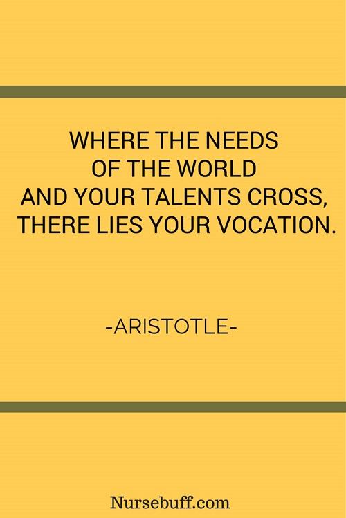 aristotle inspirational nursing quotes