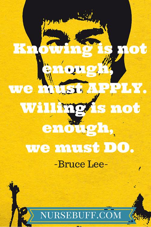 bruce lee inspiring quote