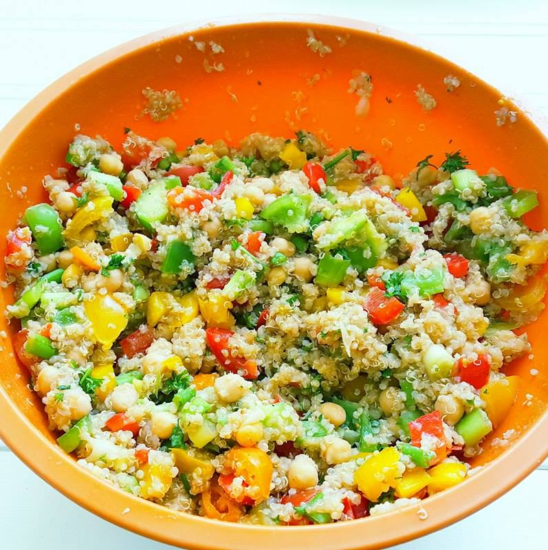 Quinoa Garden Salad