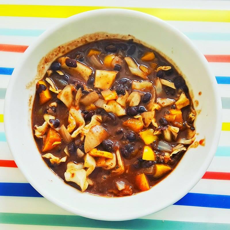 10 Minute Black Bean Soup