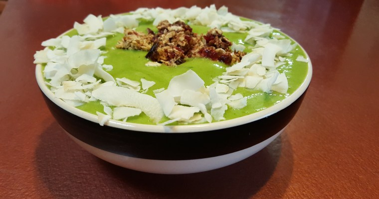 Perfect Green Smoothie Bowl