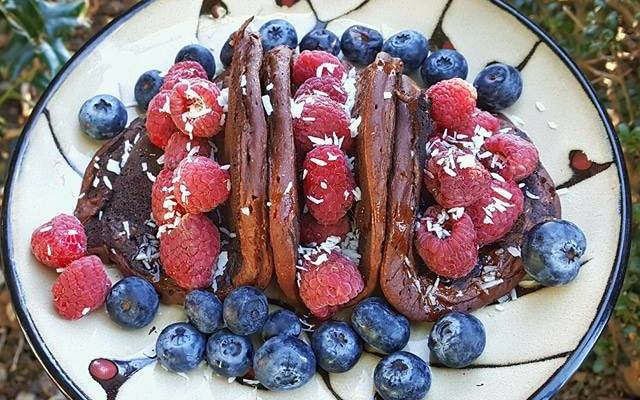 Chocolate Pancake Tacos