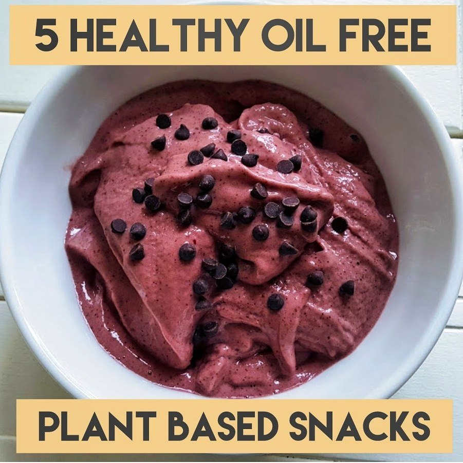 5 Healthy Plant Based Snacks to Satisfy Your Food Cravings