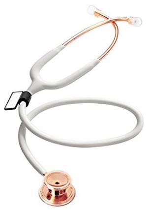 mdf rose gold stethoscope