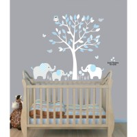 Elephant Wall Decal For Nursery - unique elephant wall ...