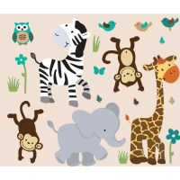 Animal Wall Decal - vinyl wall decals wall stickers nature ...