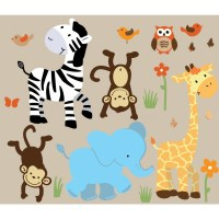 safari wall decals | Roselawnlutheran