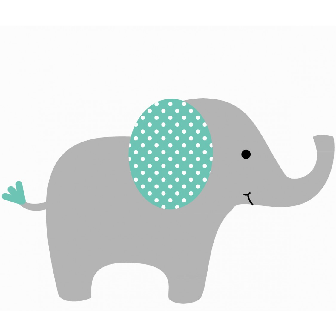 use elephant wall decals