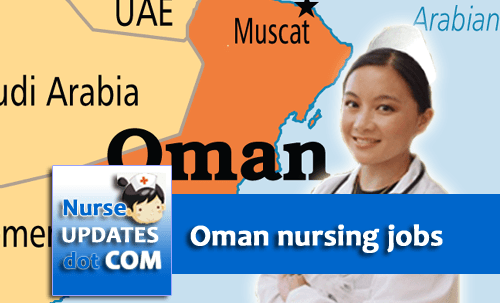 Oman Ministry of Defence needs 250 nurses