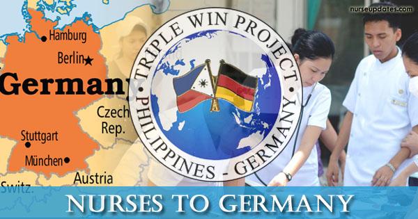 POEA: 400 nurses needed for Germany's Triple Win Project