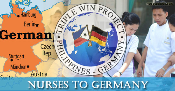 POEA hiring 350 nurses for Germany, salary at P140,000 monthly