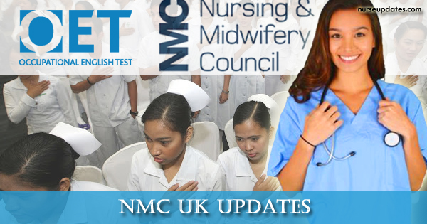 NMC UK to accept OET starting November 1 - Nurse Updates