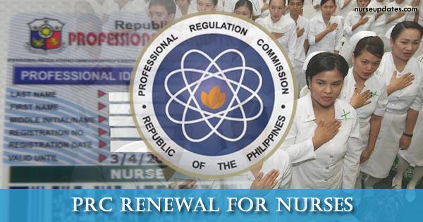 PRC Renewal for Nurses updated October 19, 2017