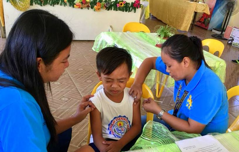 NDP nurses boost anti-measles campaign