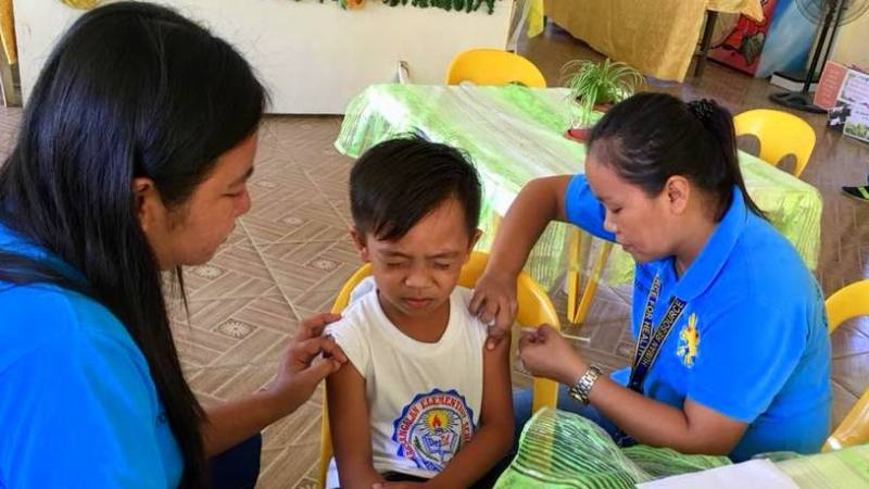 NDP nurses boost anti-measles campaign