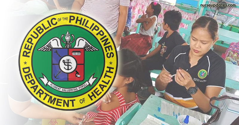 DOH-7 hiring nurses as PHAs, salary at P31,057 monthly