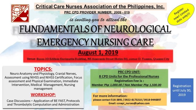 ccnapi fundamentals neurological emergency seminar