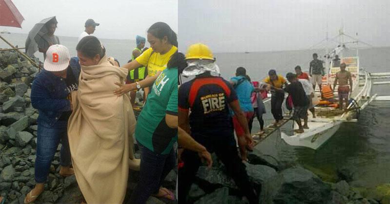 2 nurses rescued after boat capsized in Iloilo