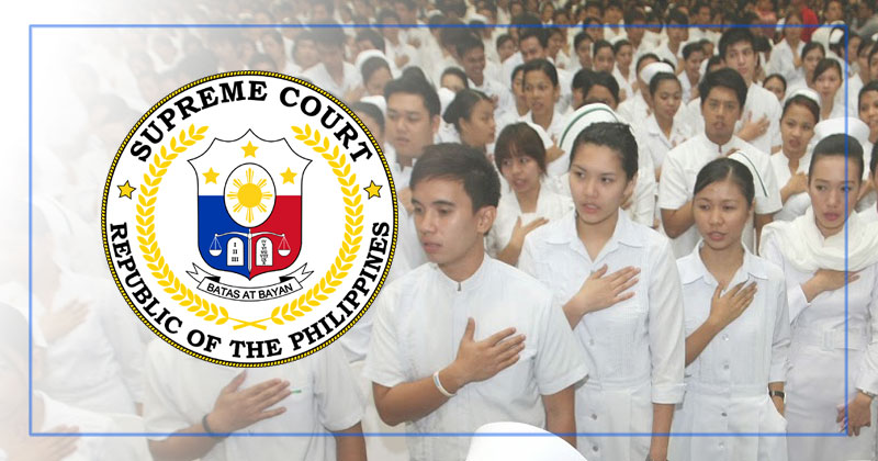 Supreme Court finality of judgment of the implementation of Salary Grade 15 for nurses in PH