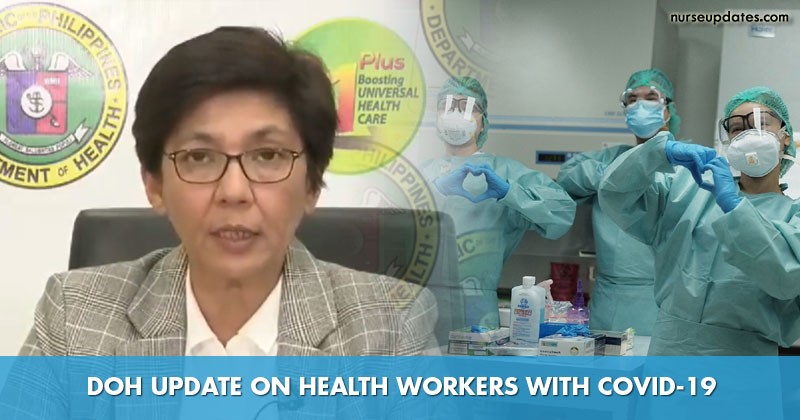 DOH logs over 1,000 nurses infected with COVID-19