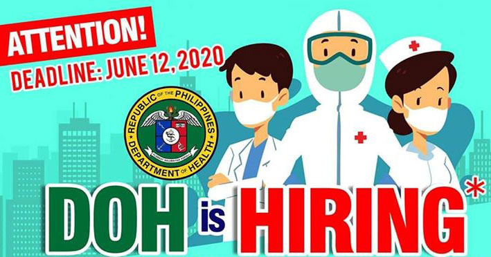 DOH hiring nurses for BJMP COVID-19 center, gross salary at P58,000