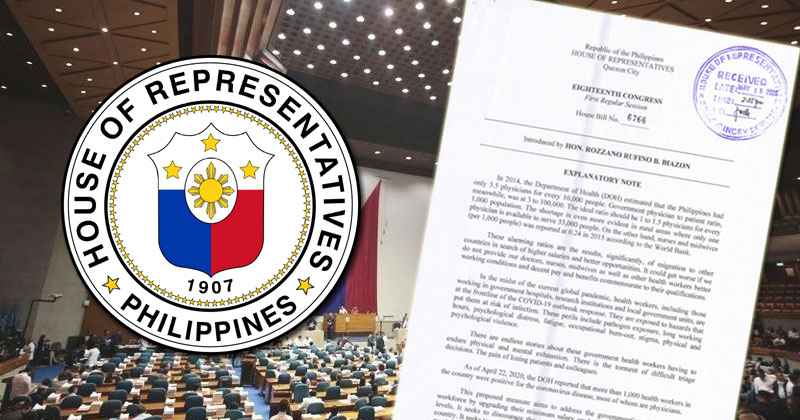 Solon files bill to upgrade salary grade of gov't health workers