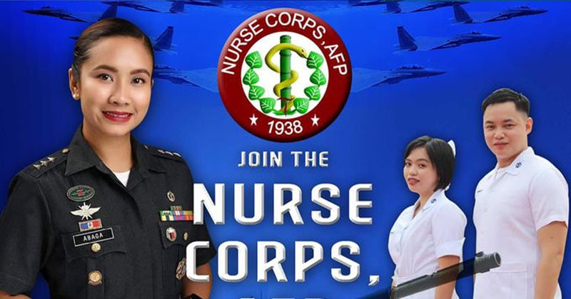 AFP hiring nurses, salary at P51,679