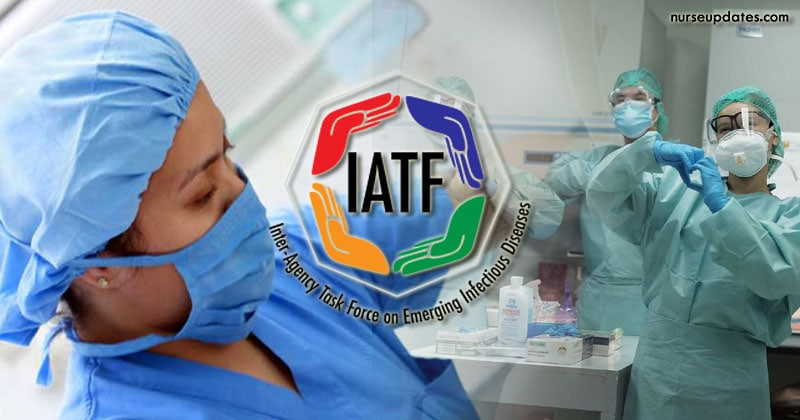 IATF allows health workers with existing contracts to leave PH