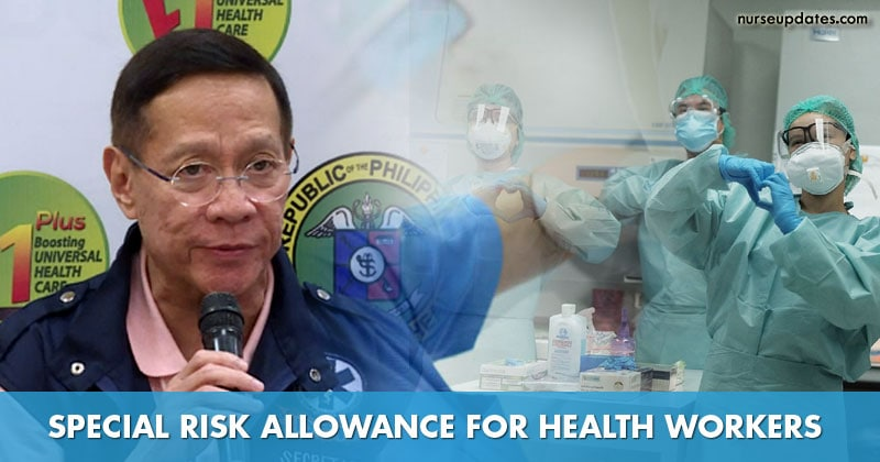 Duque urged to bring back risk allowance of health workers