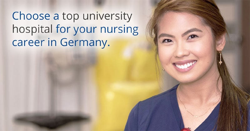 Top University Hospital in Germany hiring nurses, salary up to P173,000