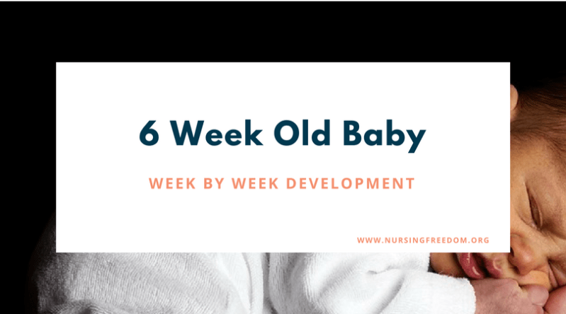 6 Week Old Baby – Week by Week Development