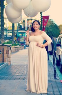plus size maternity dress