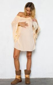 stylish maternity dress1