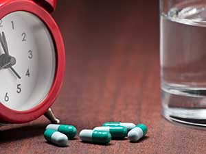 Errors In Timing Of Administration Of Medication