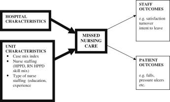 Missed nursing care: Magnet versus non-Magnet hospitals