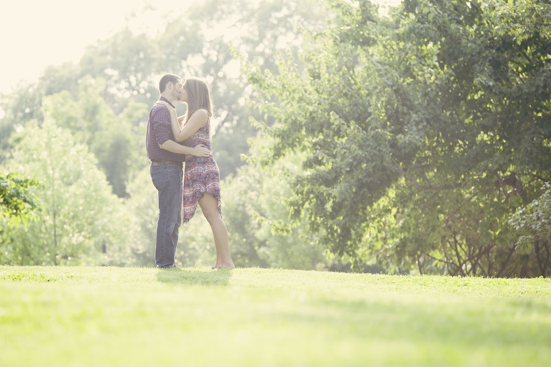 The grass is always greener where you water it - especially in marriage.