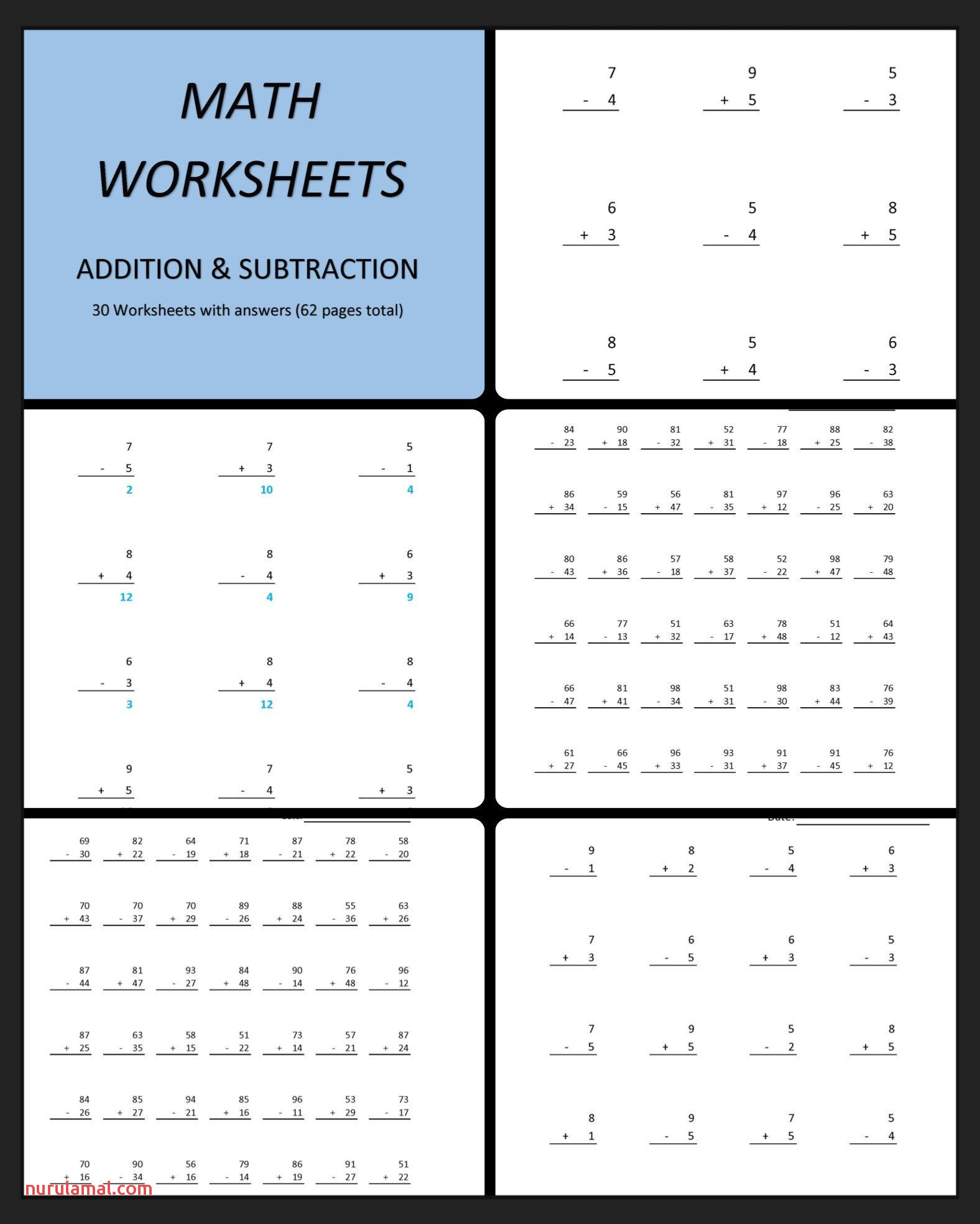 Printable Subtraction Worksheets Grade 3
